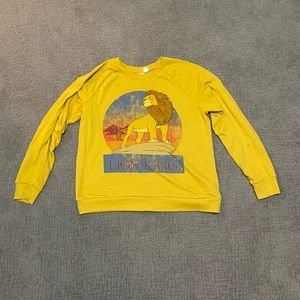 Forever 21 Tops - Disney Lion king sweater size large